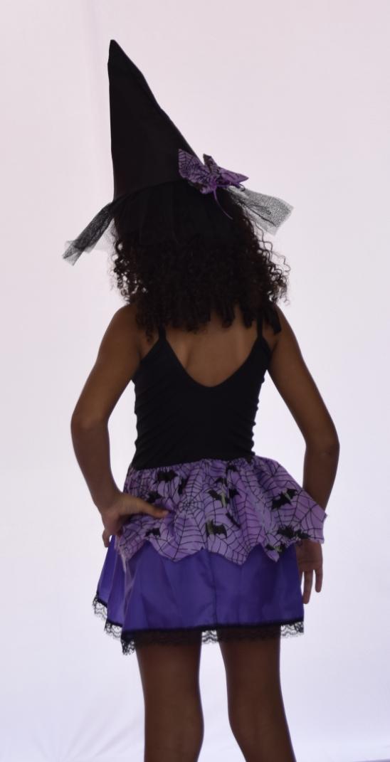 Fantasia Bruxinha Halloween - Infantil Point Da Dança - fantasia para festa carnaval