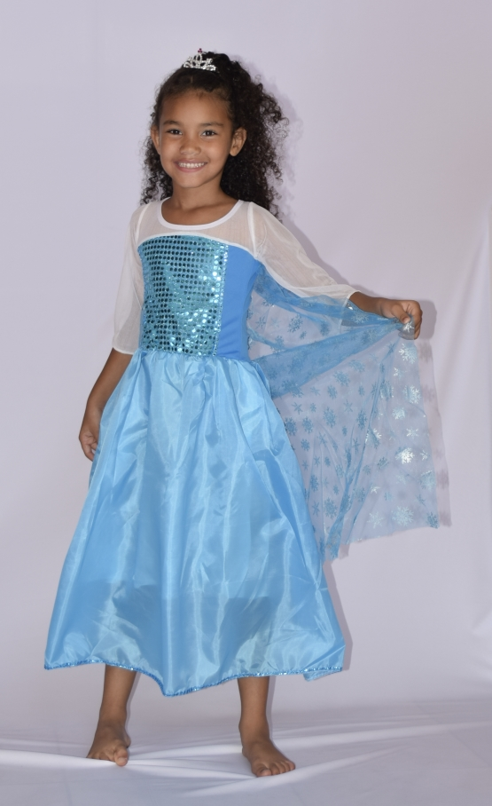 Fantasia Elsa Frozen - Infantil - Point Da Dança