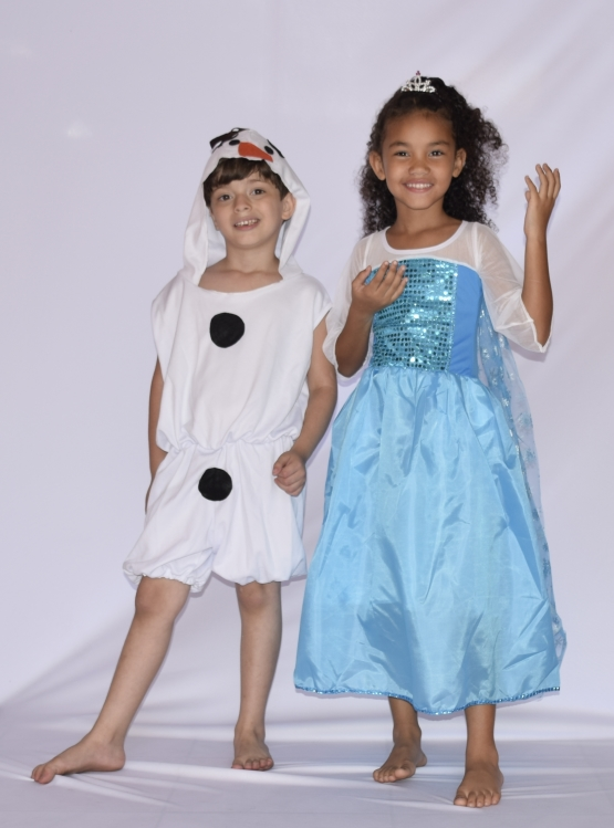 Fantasia Elsa Frozen - Infantil - Point Da Dança