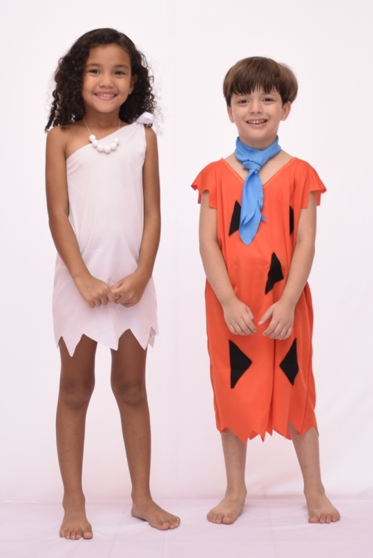 Fantasia Fred Flintstone Infantil - Point Da Dança - fantasia para festa carnaval