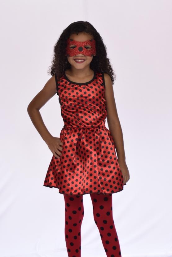 Fantasia Lady Bug Miracolous Infantil