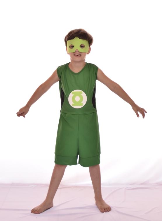 Fantasia Lanterna verde Masculino Infantil