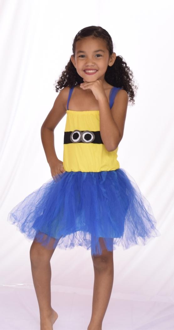 Fantasia Minions Feminino - Infantil - Point da Dança