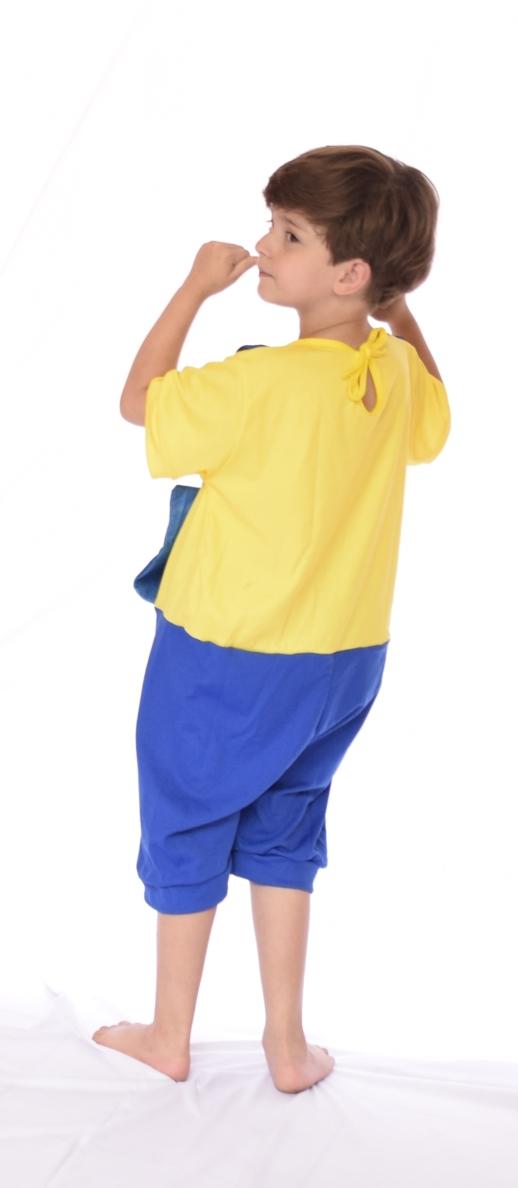 Fantasia Minions Infantil Unissex - Point da Dança