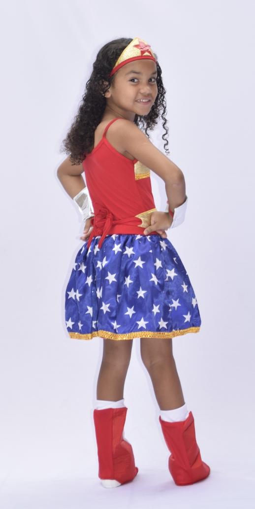 Fantasia Mulher Maravilha Infantil