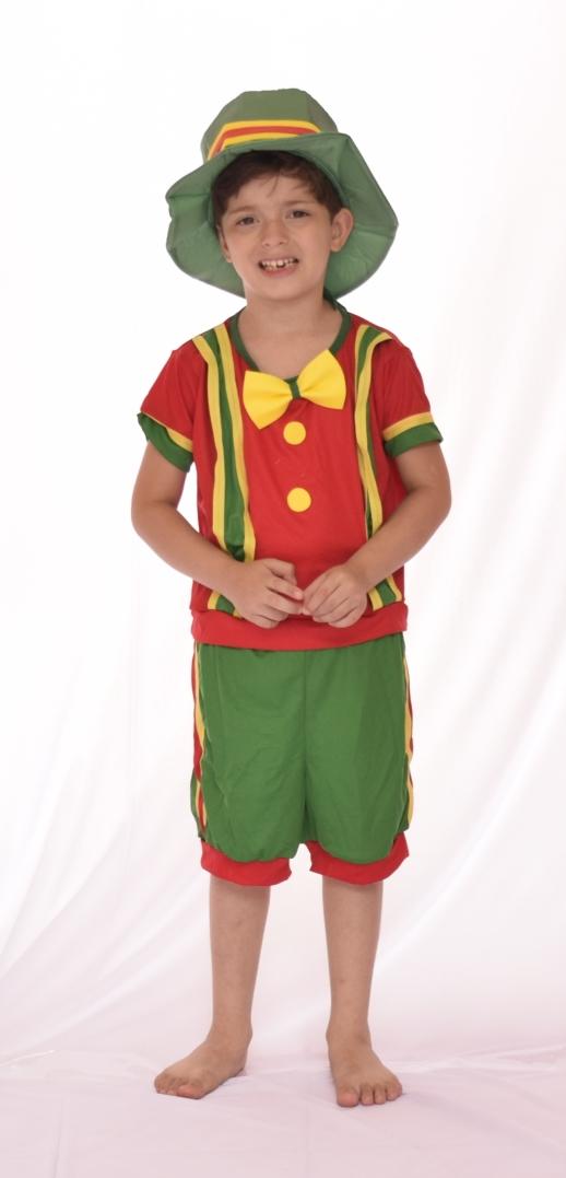 Fantasia Palhaço Patatá - Infantil fantasia para festa point da dança