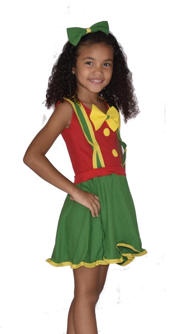 Fantasia Patatá Infantil - Feminina - Point Da Dança - fantasia para festa carnaval