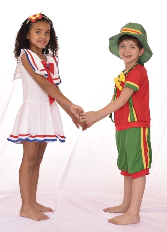 Fantasia Patati Infantil - Feminina - fantasia para festa carnaval point da dança