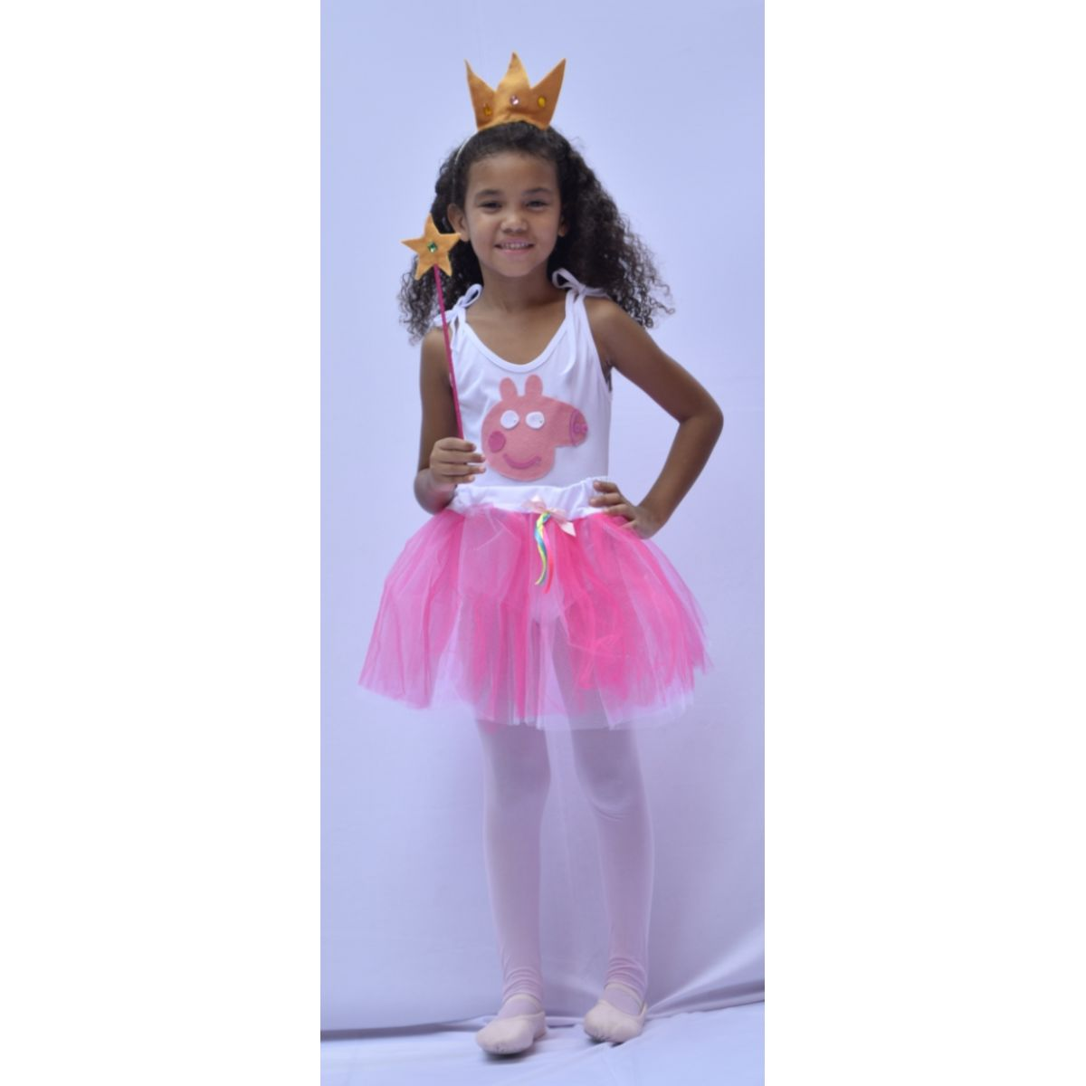 Fantasia Peppa Pig - Feminina - Infantil - Point Da Dança