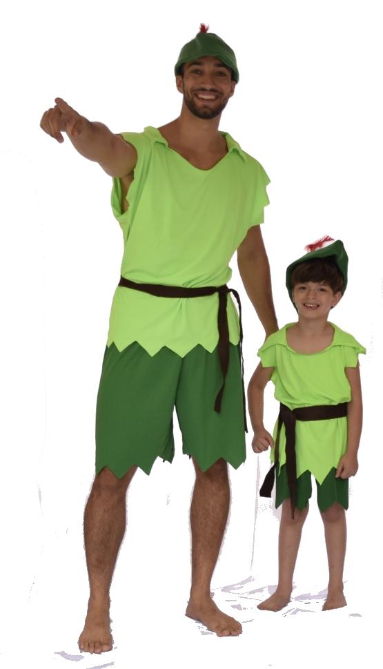 Fantasia Peter Pan - Infantil - Point Da Dança - fantasia para festa carnaval