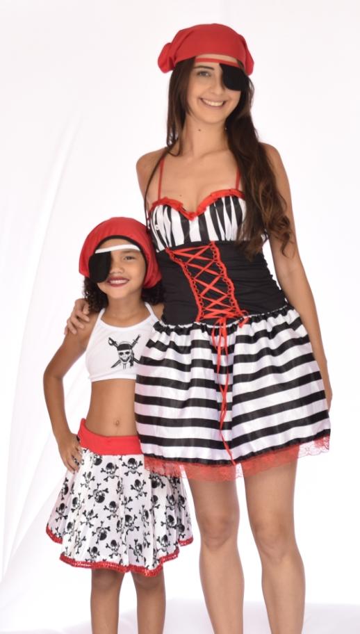 Fantasia Pirata Feminina Com Bojo - Point Da Dança - fantasia para festa carnaval