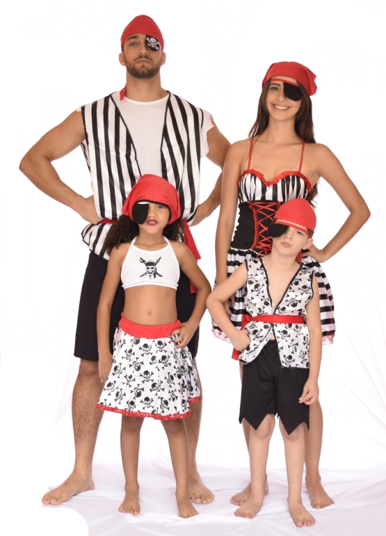 Fantasia Pirata Infantil Feminina