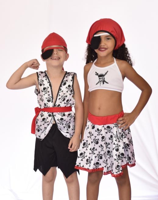 Fantasia Pirata Masculino Infantil