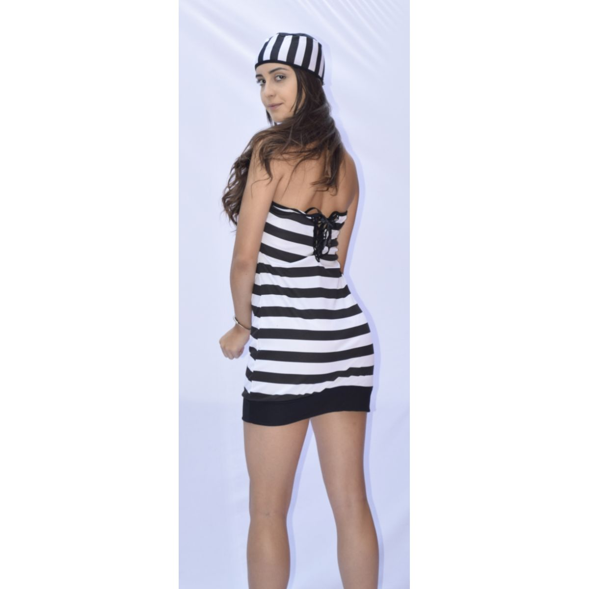 Fantasia Presidiária - Adulto - Point Da Dança - fantasia para festa carnaval