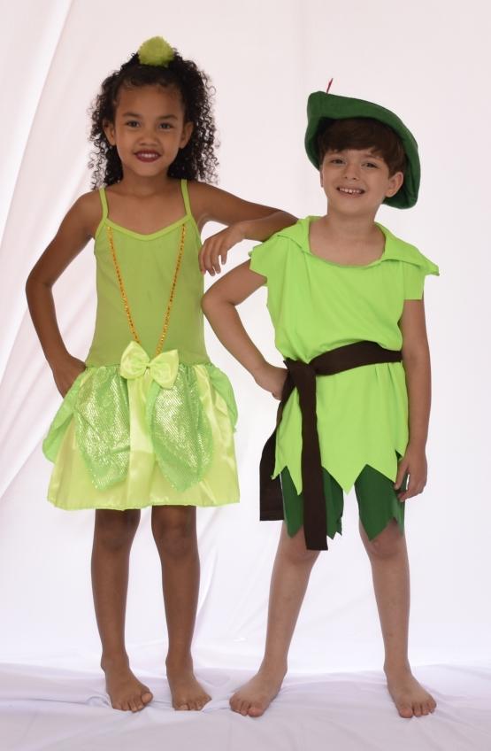 Fantasia Sininho - Infantil - Point Da Dança - fantasia para festa carnaval