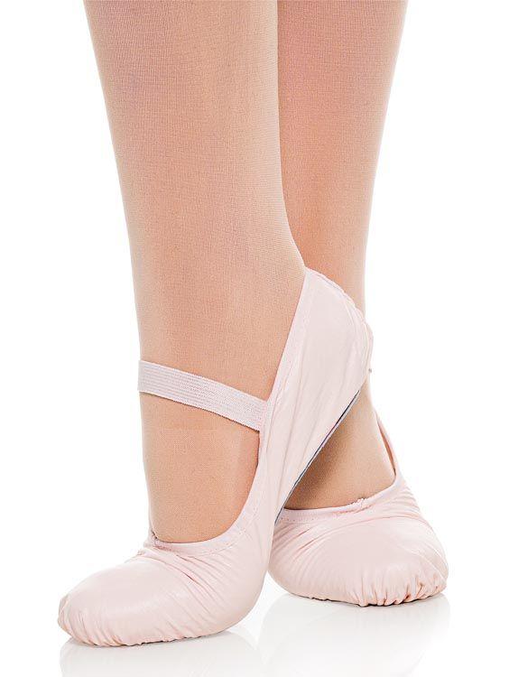 Sapatilha Meia Ponta Ballet School em napa Capézio 13