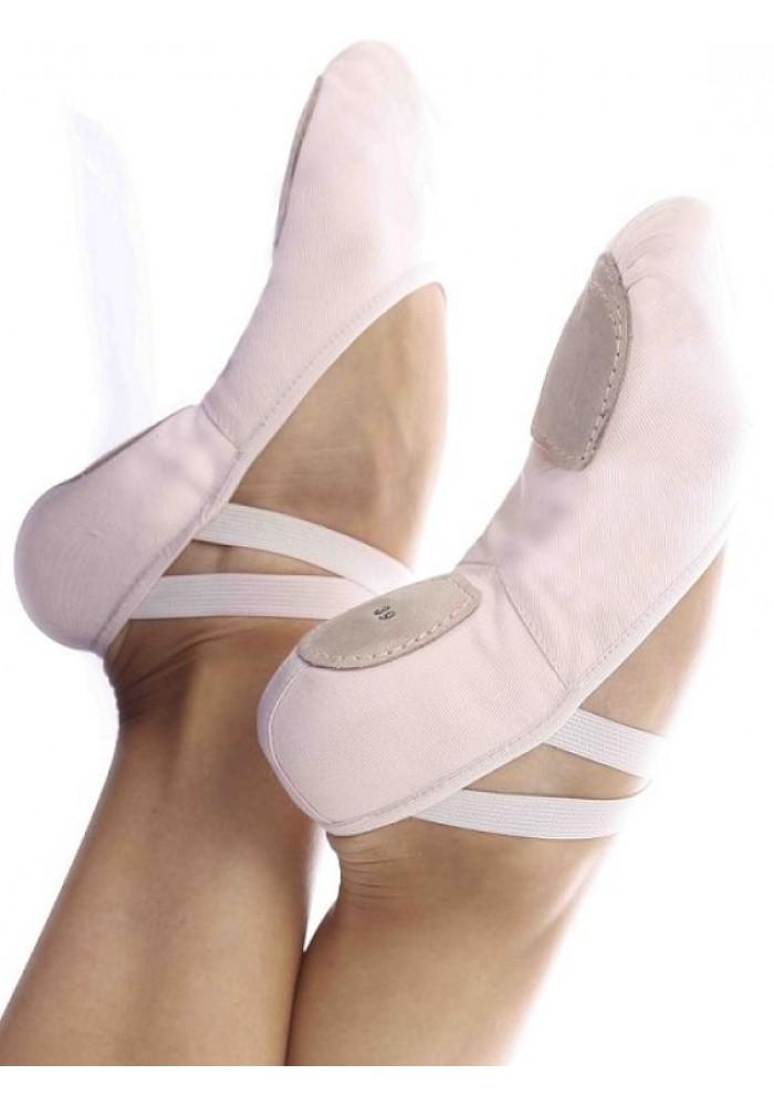 Sapatilha Meia Ponta Glove Foot  Lona Com Stretch  Capézio 2008