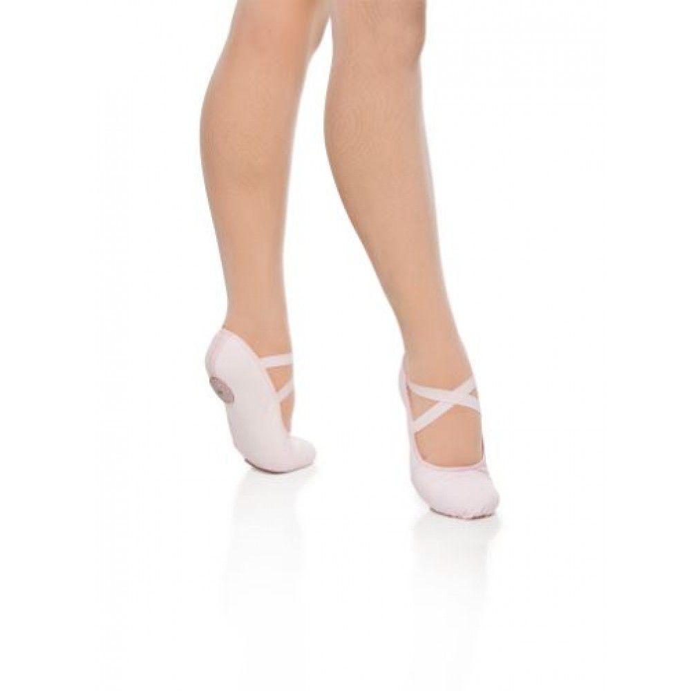 SAPATILHA MEIA PONTA GLOVE FOOT LONA COM STRETCH - CAPEZIO 2008