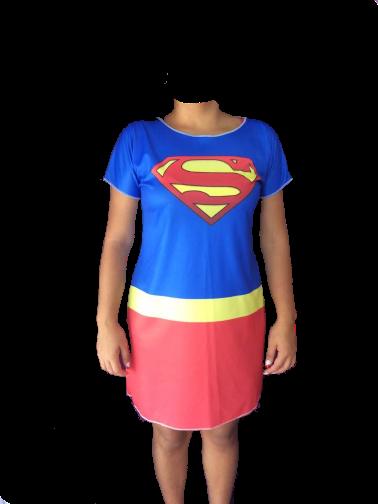 Vestido Super Mulher