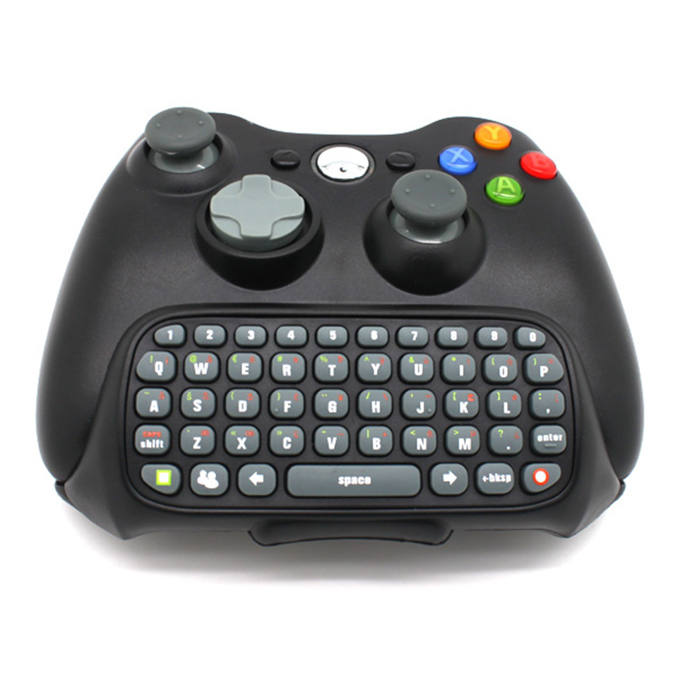 Teclado Xbox 360 Keyboard Troca de Mensagens Chat Conversa Online Chatpad