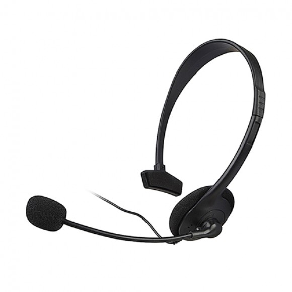 Fone Headset Xbox 360 Simples Jogue e Converse Online
