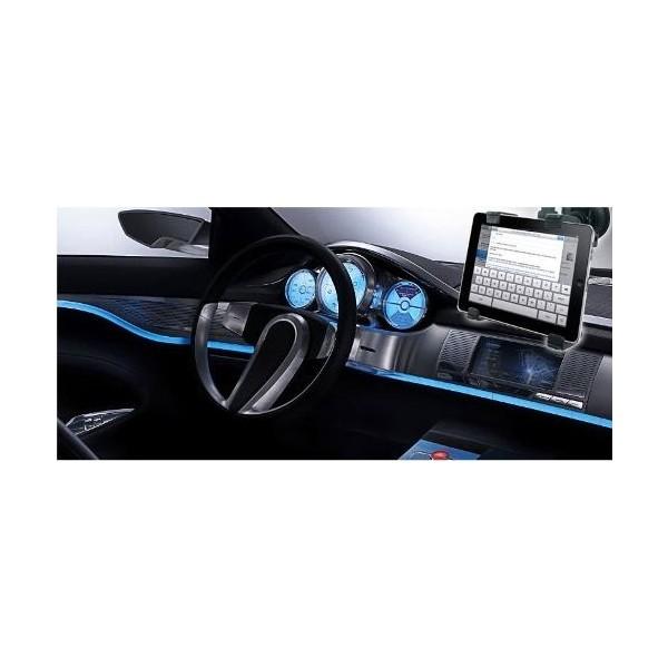 Suporte Veicular Tablet Ipad 8 9 10 Polegas Prenda no vidro do Carro Caminhão Taxi
