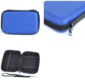 Case Capa Estojo Nintendo 3DS XL Hard Case Proteção Azul