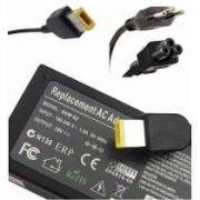 Fonte Carregador Notebook Lenovo Ibm Plug Retangular 20v 65w