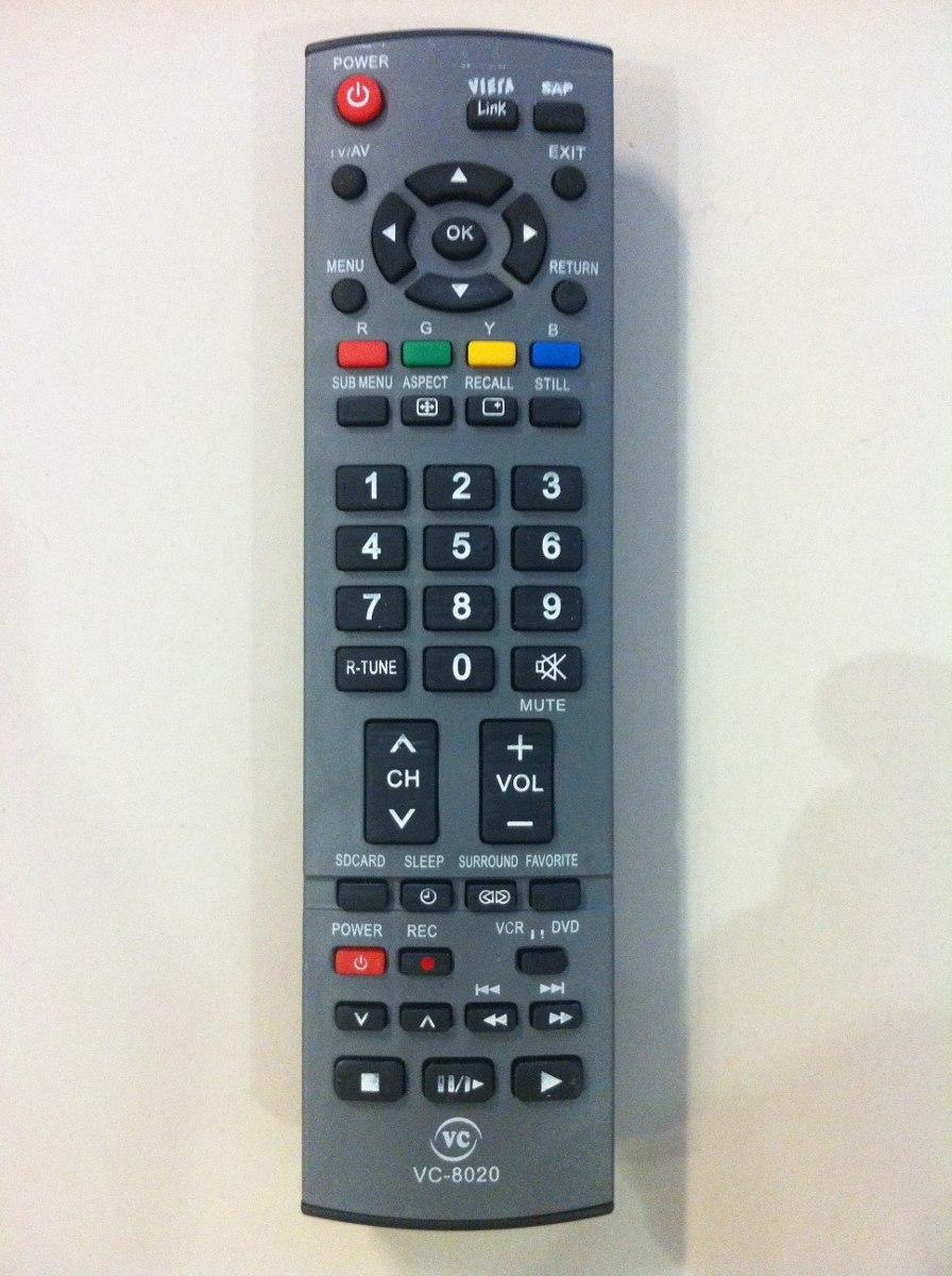 Controle Remoto Tv Plasma Lcd Panasonic Viera Th-42pv70lb
