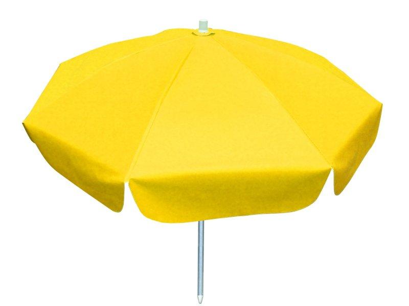 Guarda Sol Haste De Aluminio Lona De Pvc 1,60cm Azul Amarelo Branco Vermelho