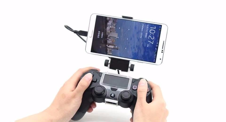 Suporte Universal Celular Iphone Sony Lg Samsung Galaxy Motorola Controle Joystick Ps4 Playstation 4