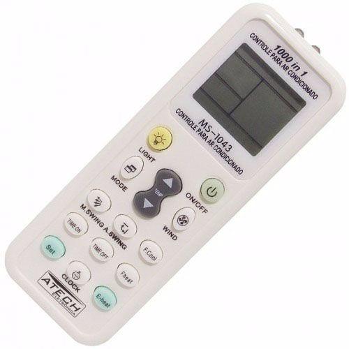 Controle Remoto Ar Condicionado Split York Huawei Gree Toshiba Goldstar Fujtisu Sanyo Comfee Electrolux Universal