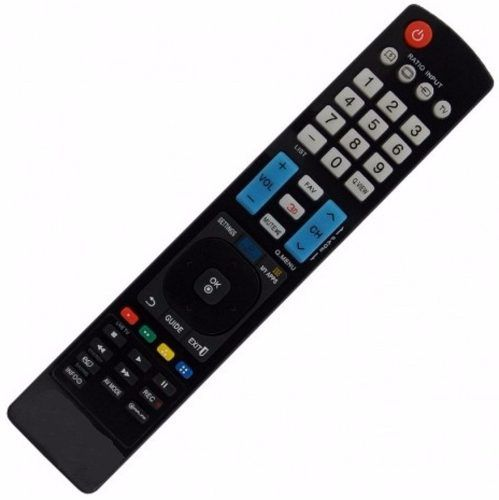 Controle Remoto Tv Lcd Led 3d Smart Lg Akb73615319 Akb73756510 Akb73756504