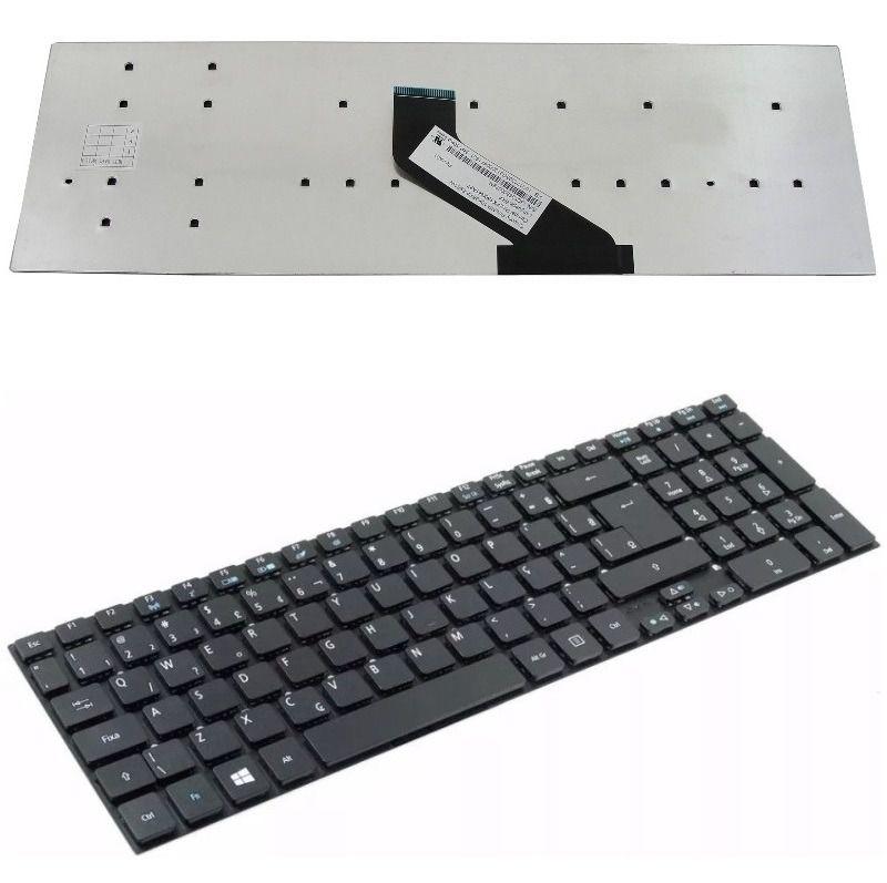 Teclado para Notebook Acer Aspire V3-531 E1-572-6-br691 E1-572-6_br800 5830T 5830G E1-522 - E1-530 E1-532 E1-572
