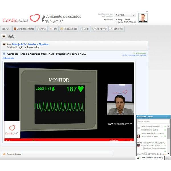 Curso PRÉ-ACLS - Curso online de Parada e Arritmias baseado no ACLS e Diretrizes da AHA - American Heart Association