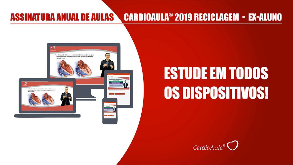 Assinatura Anual de Aulas CardioAula® 2019 Reciclagem - Ex Aluno