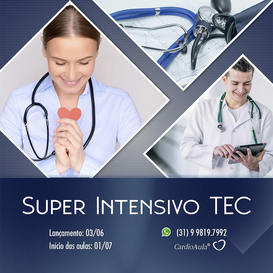 CardioAula® TEC 2019 - SUPER INTENSIVO - 350 Horas / aula com 8 apostilas Exclusivas EM CASA - Curso preparatório para prova de Título de Especialista em Cardiologia