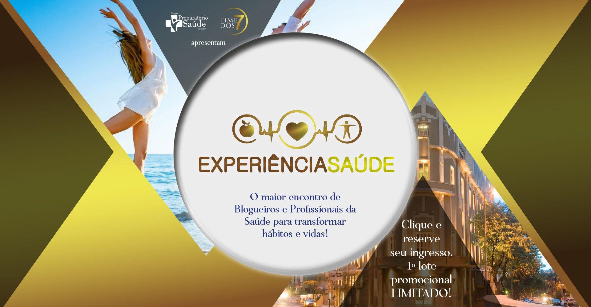EXPERIÊNCIA SAÚDE: Do Instagram para o Palco! Encontro com Profissionais da Saúde Influenciadores Digitais - Volume 01: EMAGRECIMENTO - Museu Inimá de Paula, 27-01, Belo Horizonte