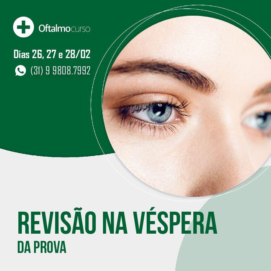 OftalmoCurso Presencial SP 2020 - Curso Preparatório para Provas de Oftalmologia