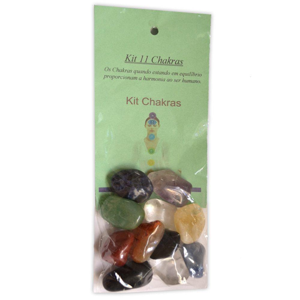 11 Pedras dos Chakras