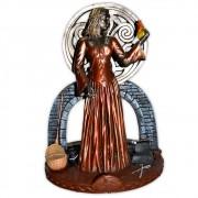 Brigit Castiçal, Deusa do Fogo da Inspiração - Colorido