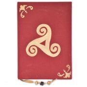 Caderno Triskle - Vermelho 100fls