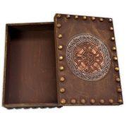 Caixa de Tarô - Escudo Celta Bronze