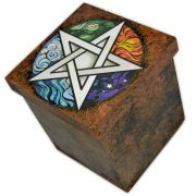 Caixa Pentagrama e Cinco Elementos