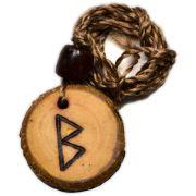 Colar de madeira - Berkana