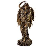 Deusa Fortuna Alada - Dourado