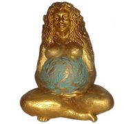 Deusa Gaia - modelo 2 Dourada