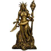 Deusa Hécate - Dourada