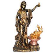 Héstia, Deusa do Fogo Sagrado e da Família - Dourada mod.1