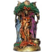 Deusa Tríplice - Colorida